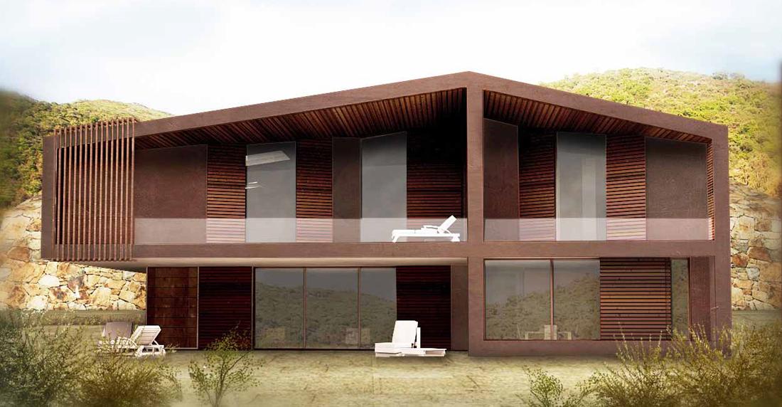 Studio architettura germani milano e firenze ville for Architettura e design milano